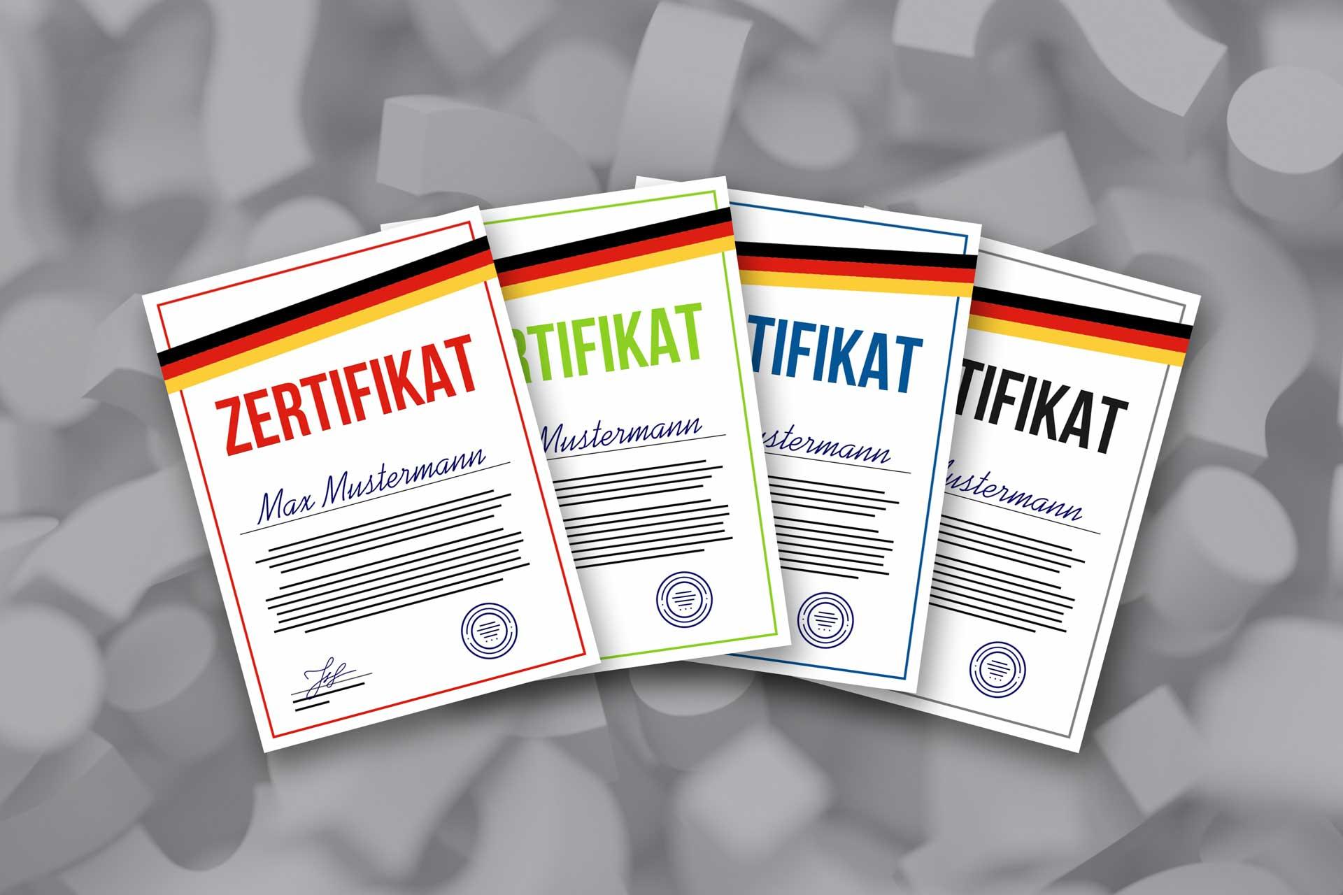 Zertifikate Telc Daf Dsh Goethe Institut Zertifikat Welches